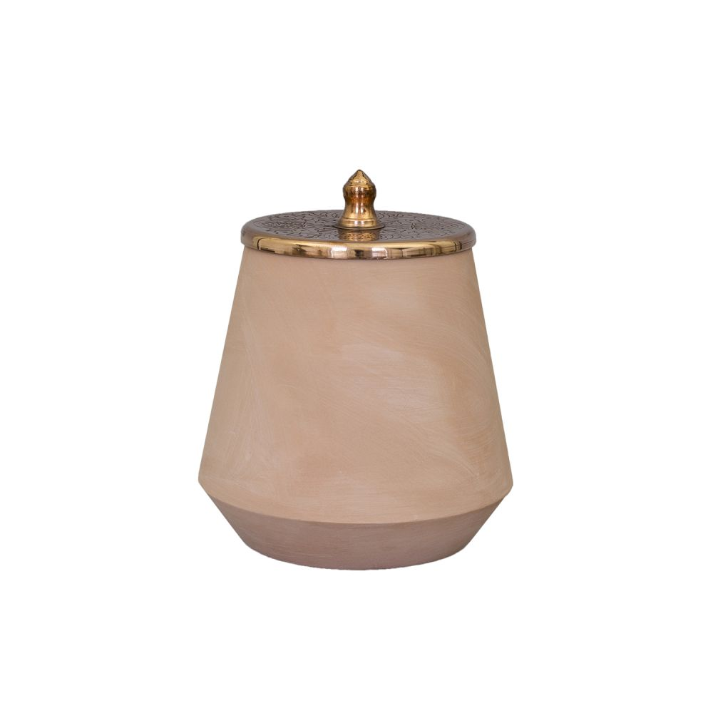 Tunisia Made Large Jar by Hend Krichen