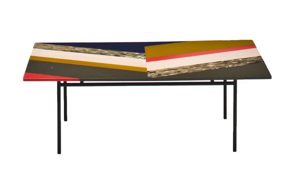 Fishbone Rectangular Table by Moroso