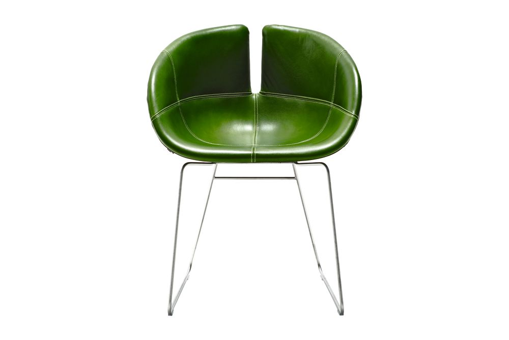 Fjord Sled Base Armchair by Moroso