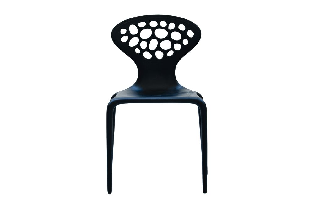 Supernatural Dining Chairs with Perforated Back Set of 4  by Moroso