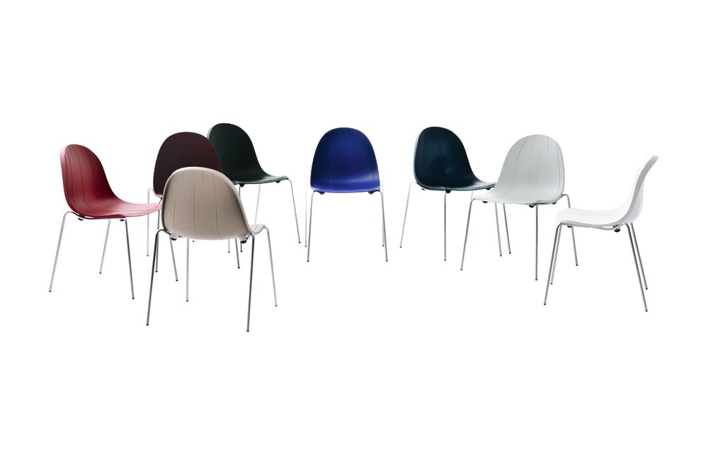 Impossible Wood Chair Set of 2 by Moroso