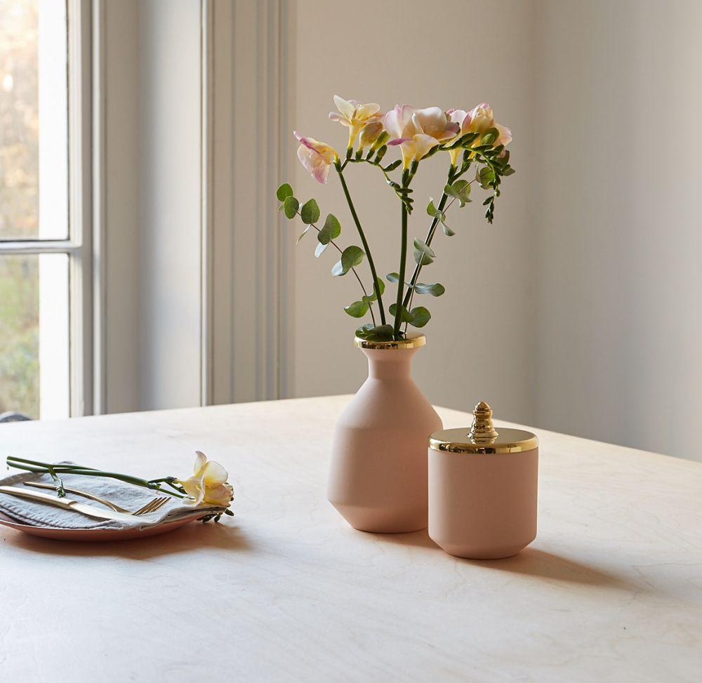 Pink Small Jar by Hend Krichen