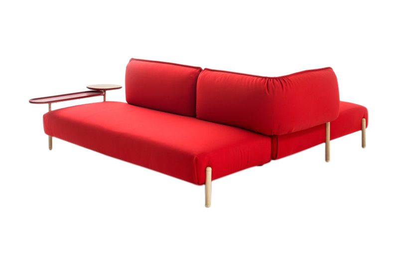 Tender Double Table For Sofa by Moroso