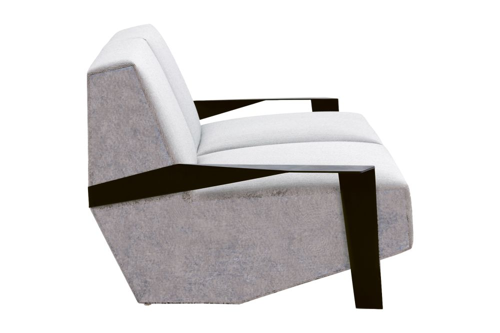 Silver Lake 2 Seater Sofa Padded Side by Moroso