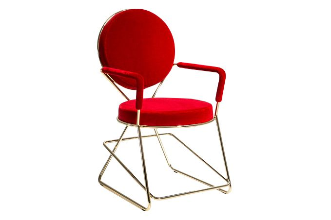 Double Zero Chair with Arms by Moroso