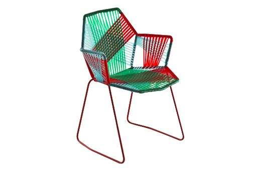 Tropicalia Chair with Arms by Moroso