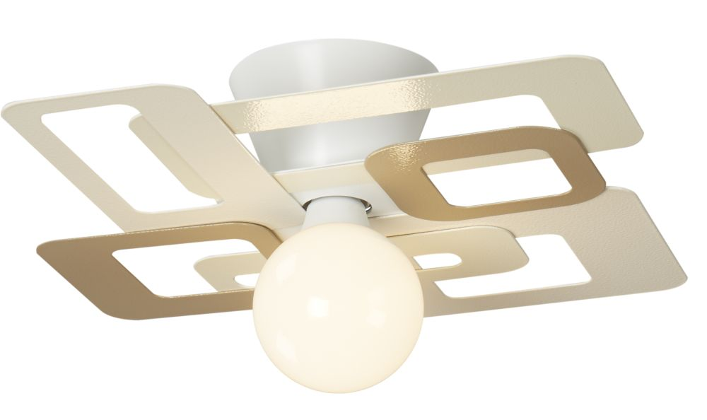 KUADRA Ceiling Light by GIBAS