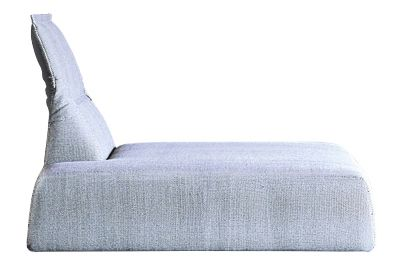 Highlands Chaise Longue Central by Moroso