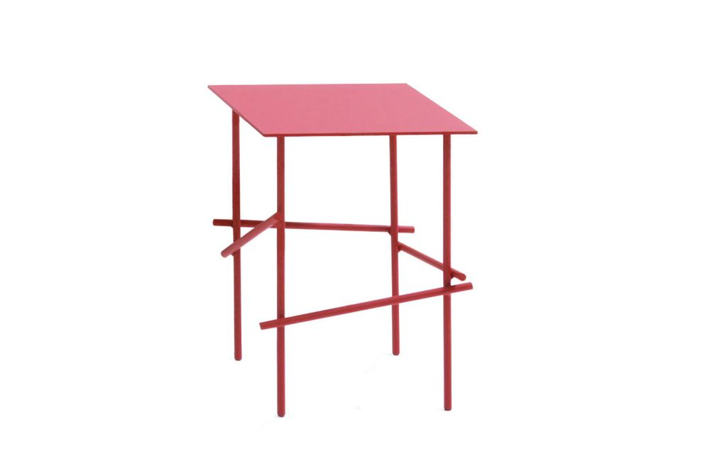 Shanghai Tip Square Side Table by Moroso