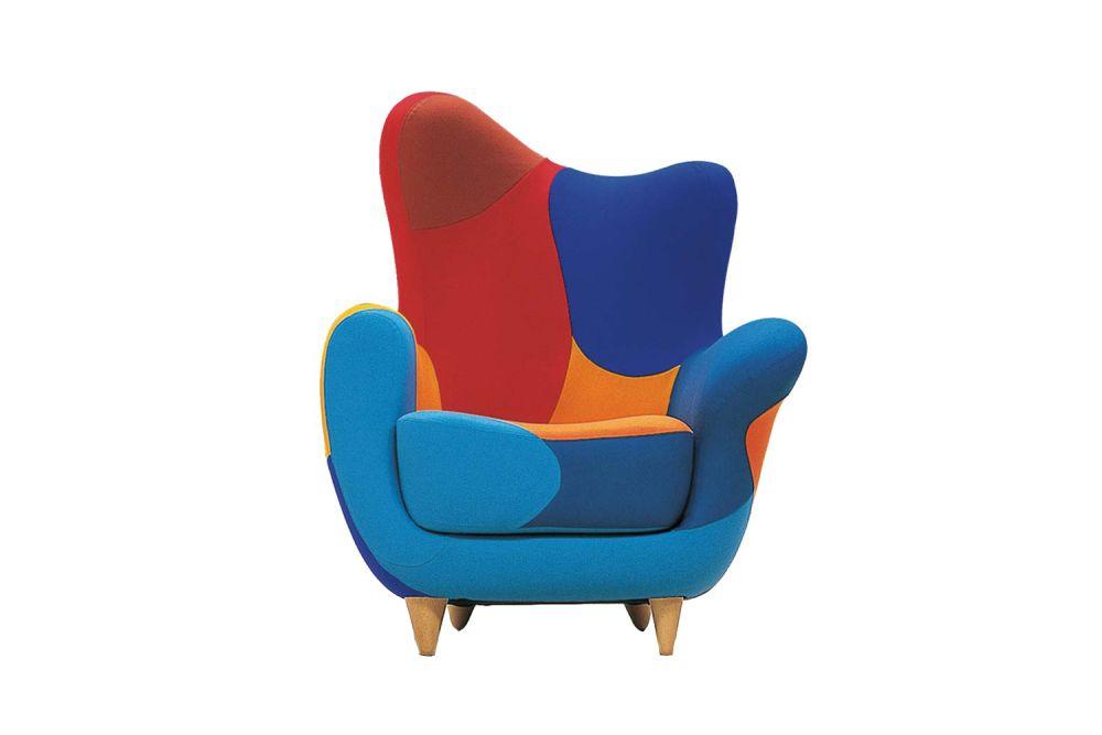 Los Muebles Amorosos Alessandra Bright Colour Armchair by Moroso