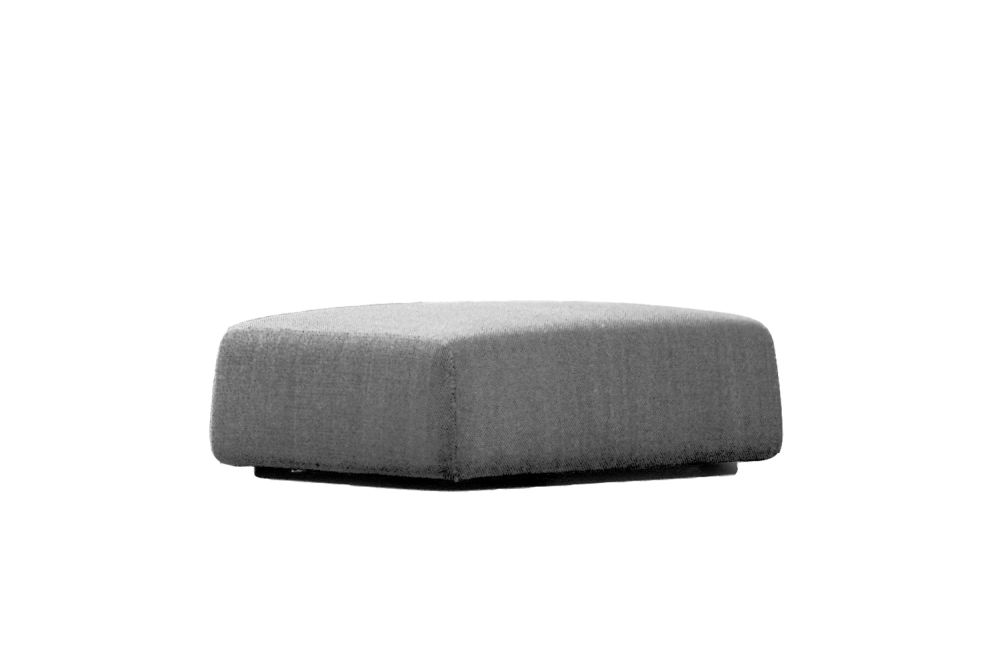 Highlands Footstool by Moroso