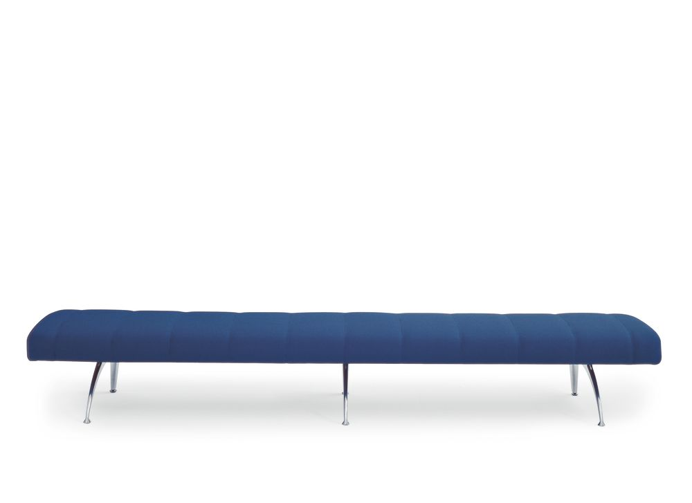 Waiting Bench without Backrest by Moroso