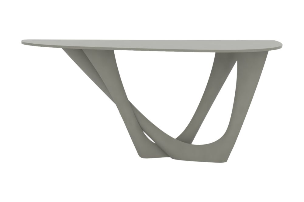 G-Console Duo Table with Powder Coated Top and Base by Zieta