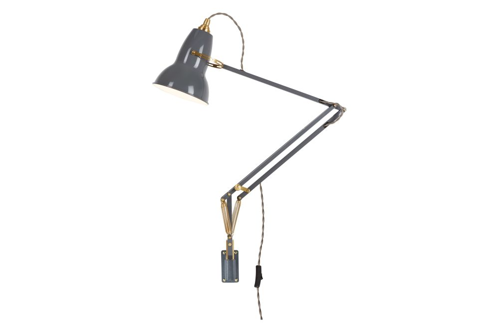 Original 1227 Brass Lamp with Wall Bracket by Anglepoise