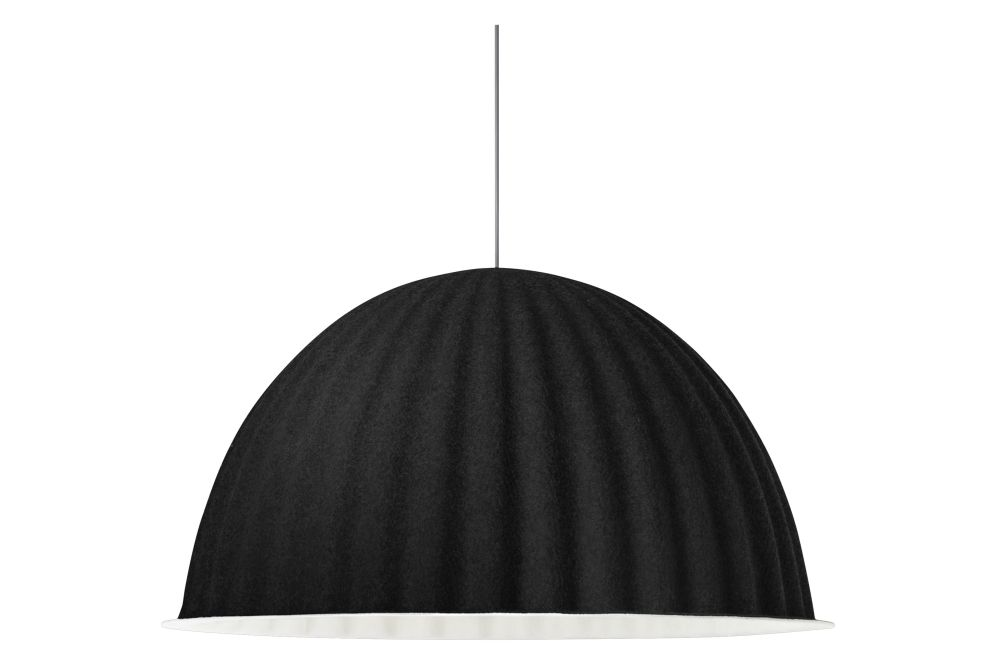 Muuto E27 Hanglamp : Under the bell pendant lamp black Ø cm by muuto clippings