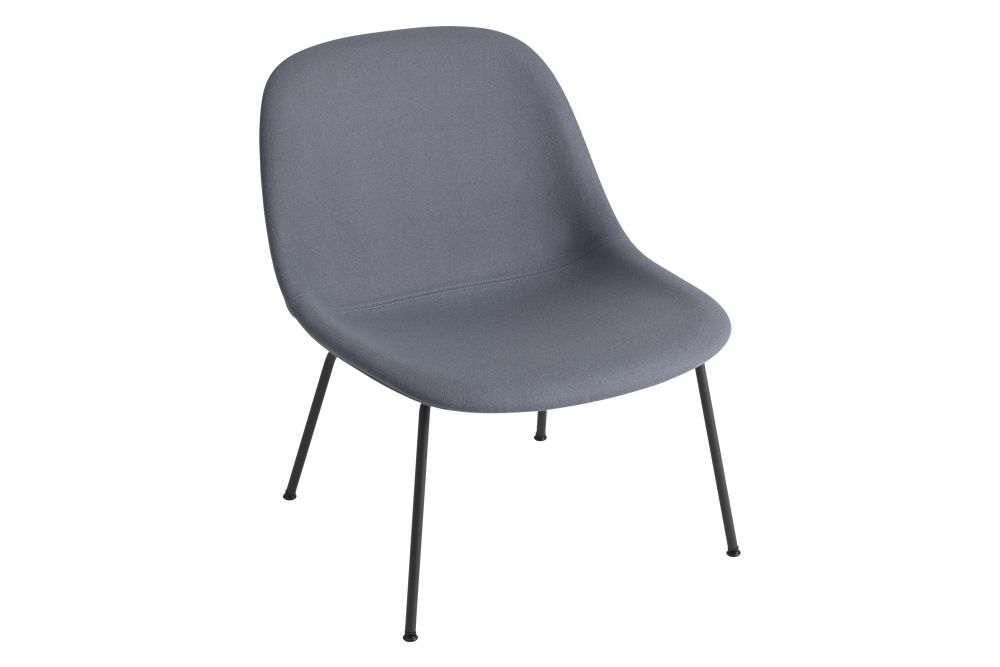 Fiber Lounge Chair with Tube Base by Muuto