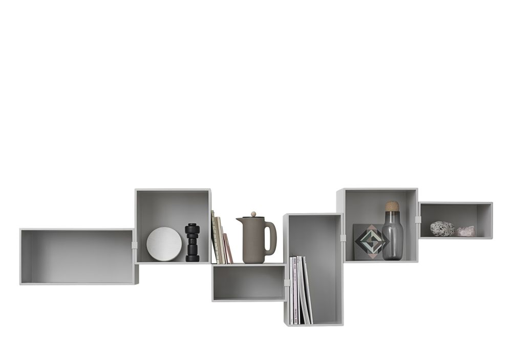 Mini Stacked Storage System 2.0 - Configuration 7 by Muuto