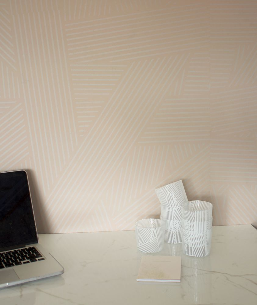 OBLIQUE WALLPAPER by CUSTHOM