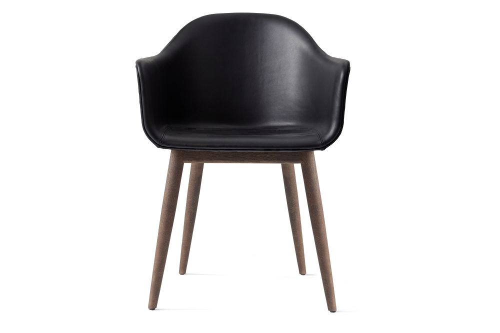 Harbour Upholstered Chair - Wood Base by Menu