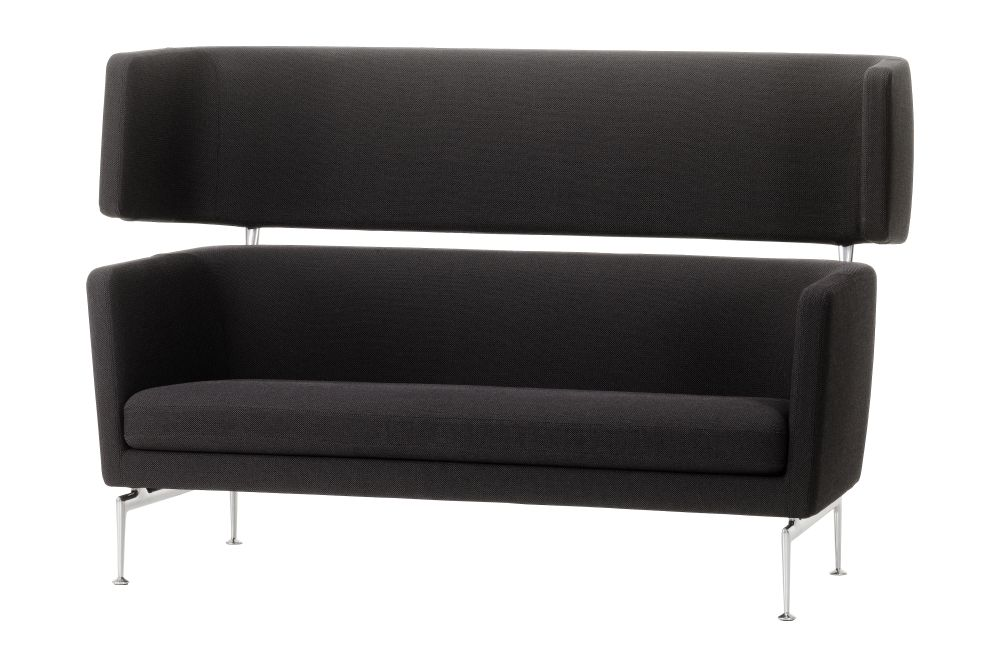 Suita Club Sofa with Header Section by Vitra