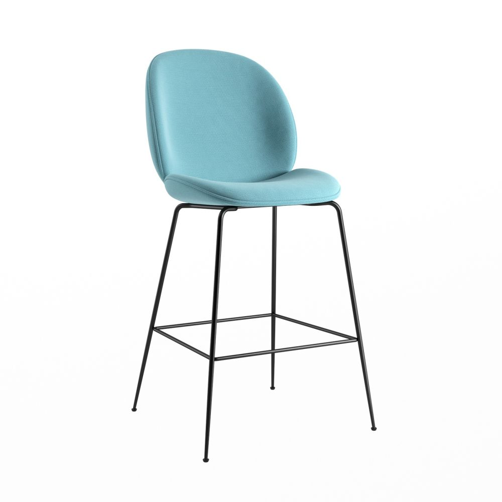 Beetle Counter Chair - Fully Upholstered by Gubi