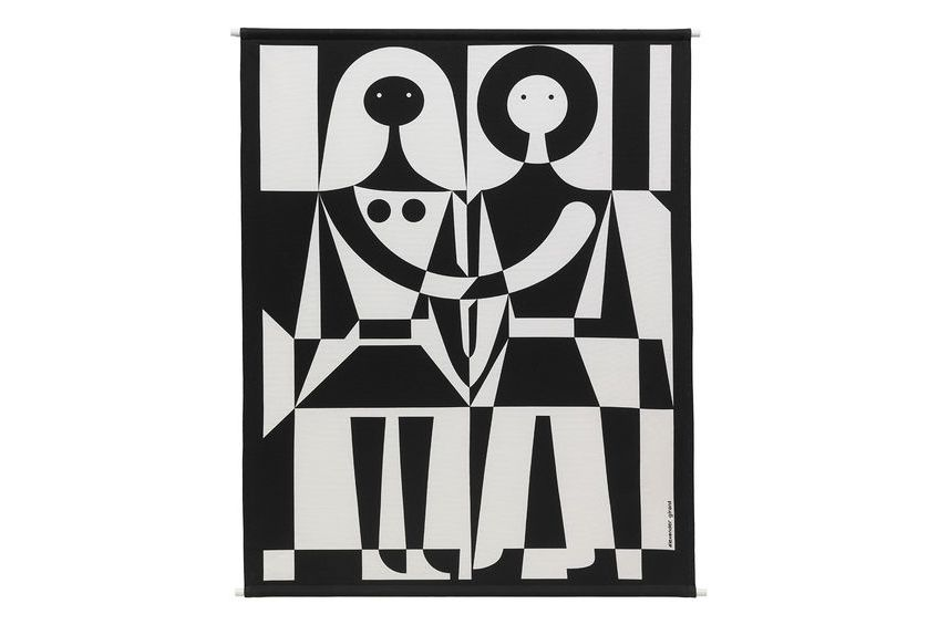 Black and White Environmental Wall Hanging by Vitra