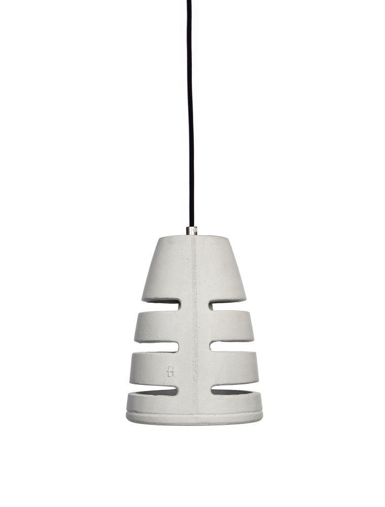 Battaglia 150 Concrete Pendant Light by URBI ET ORBI