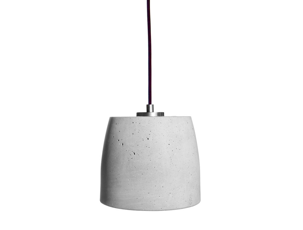 Calix 18 Concrete Pendant Light by URBI ET ORBI