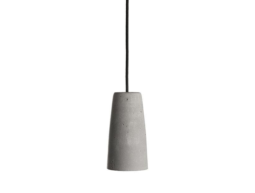 Phari Concrete Pendant Light by URBI ET ORBI