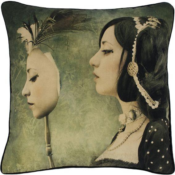 Mirror Mirror Cushion  by Mineheart
