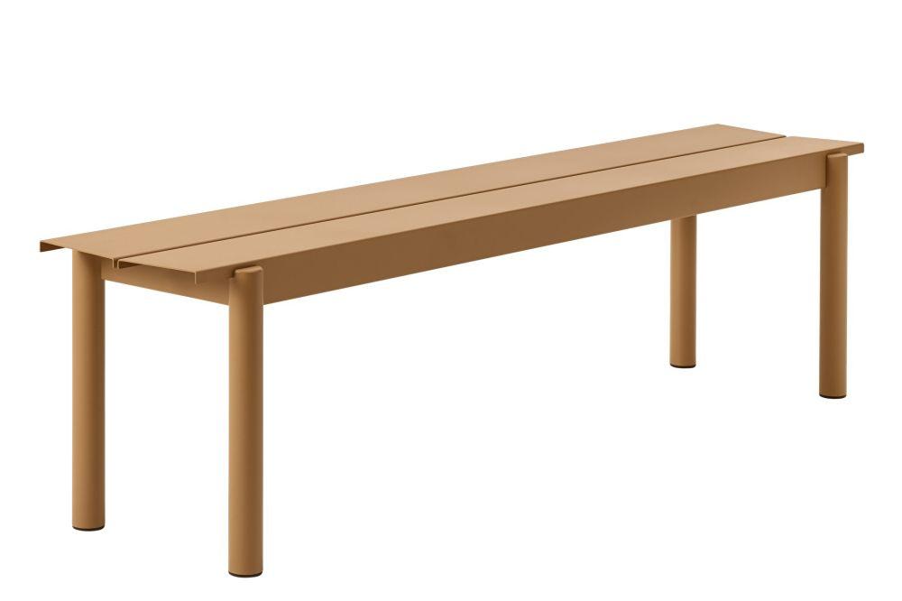 Linear Steel Bench by Muuto