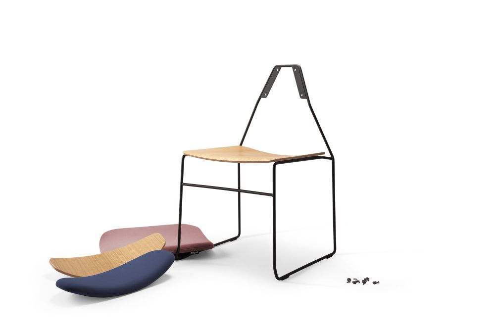 Naked Soft Seat Dining Chair by Deadgood