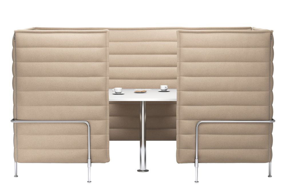 Alcove Cabin Highback Three-Seater by Vitra
