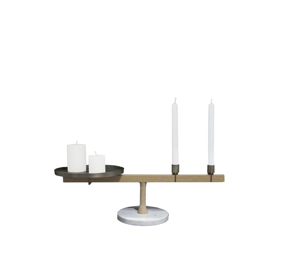 Balance Candleholder II by Driade