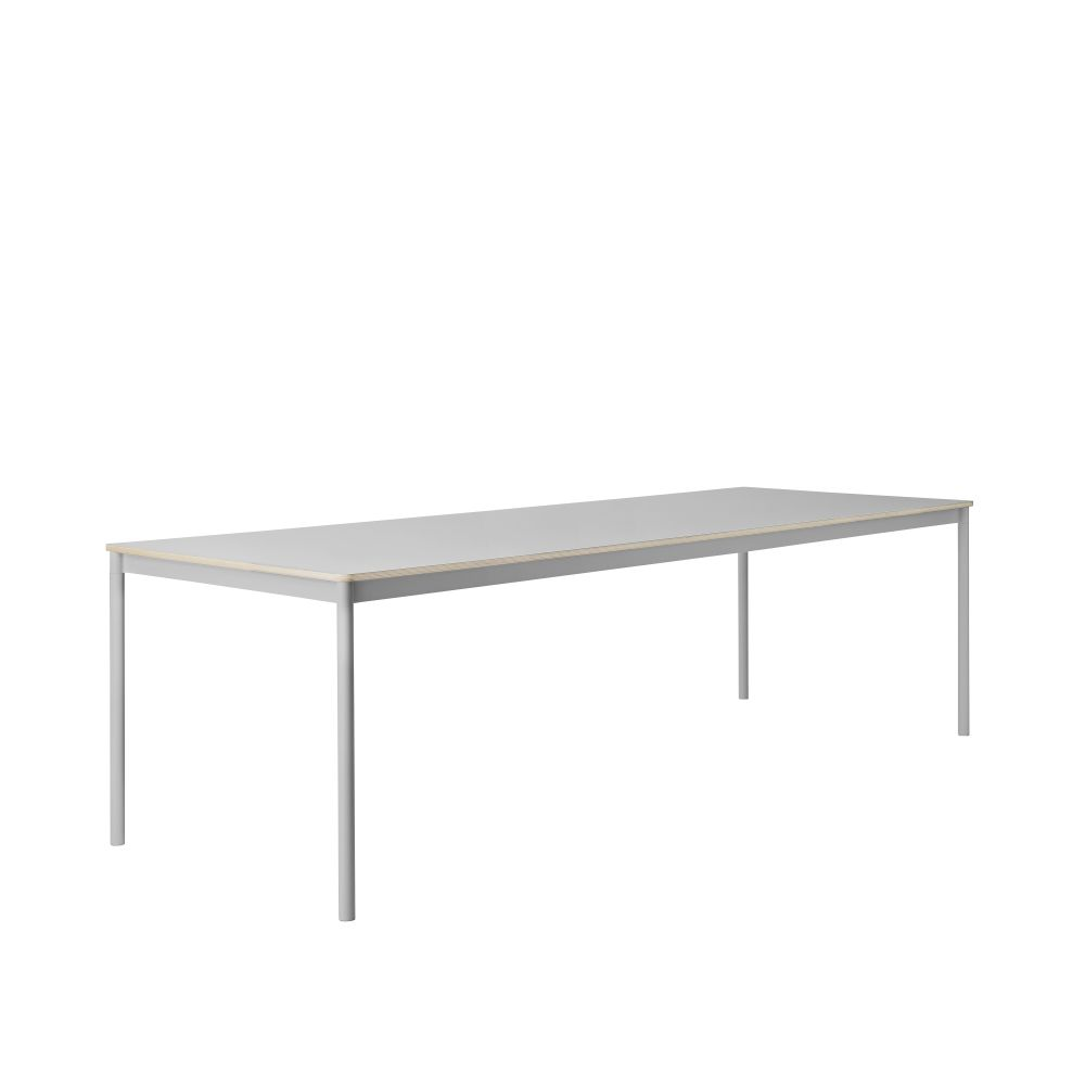 Base 250x90 Rectangular Table by Muuto