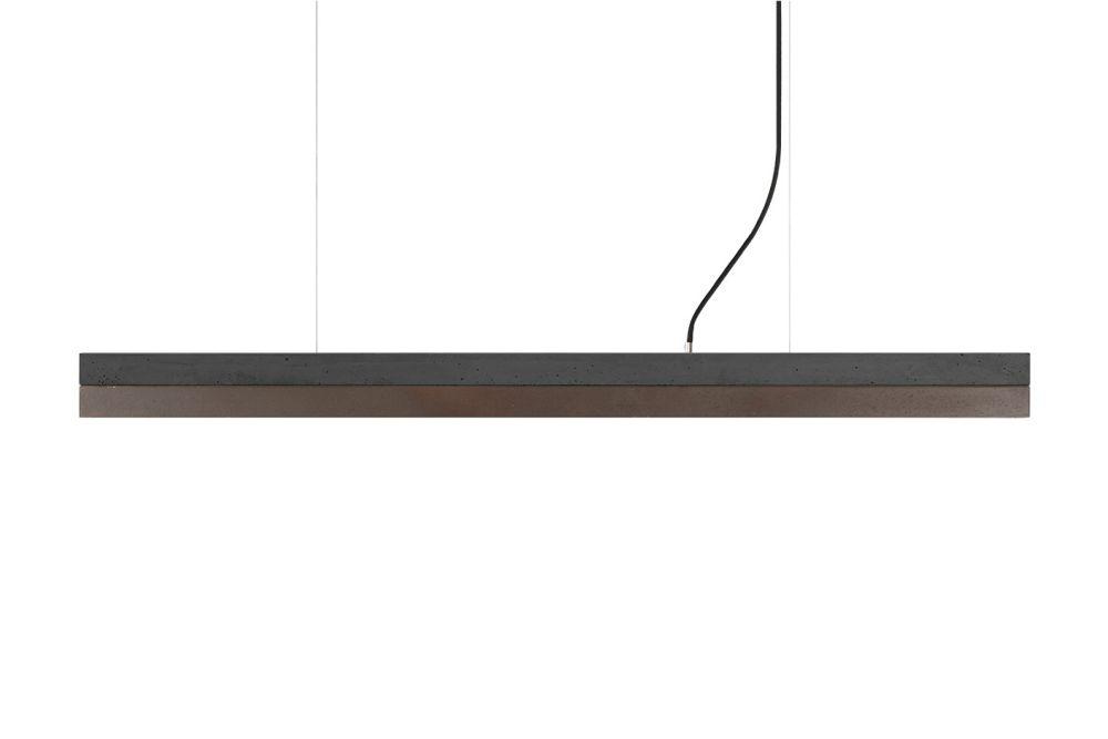 [C] Concrete & Corten Steel Pendant Light by GANTlights
