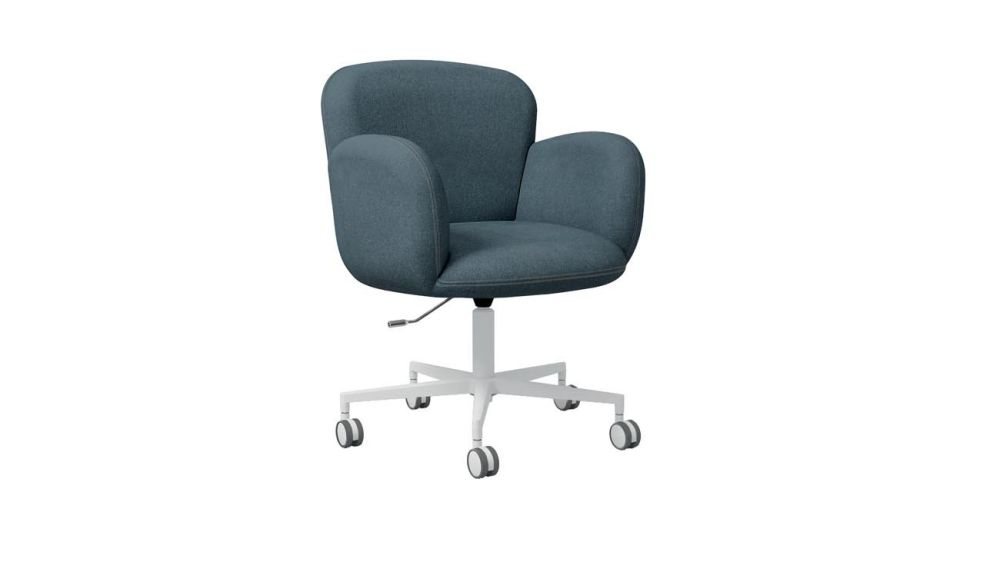 Dento Armchair 5 Spoke Base on Casters by Cappellini