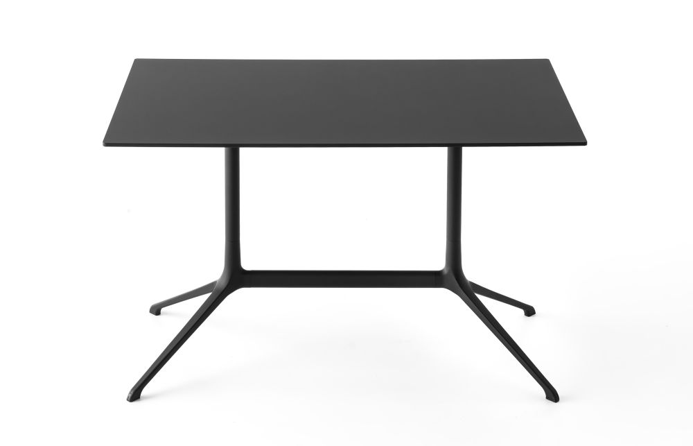 Elephant Occasional Rectangular Table - Fixed Top by Kristalia