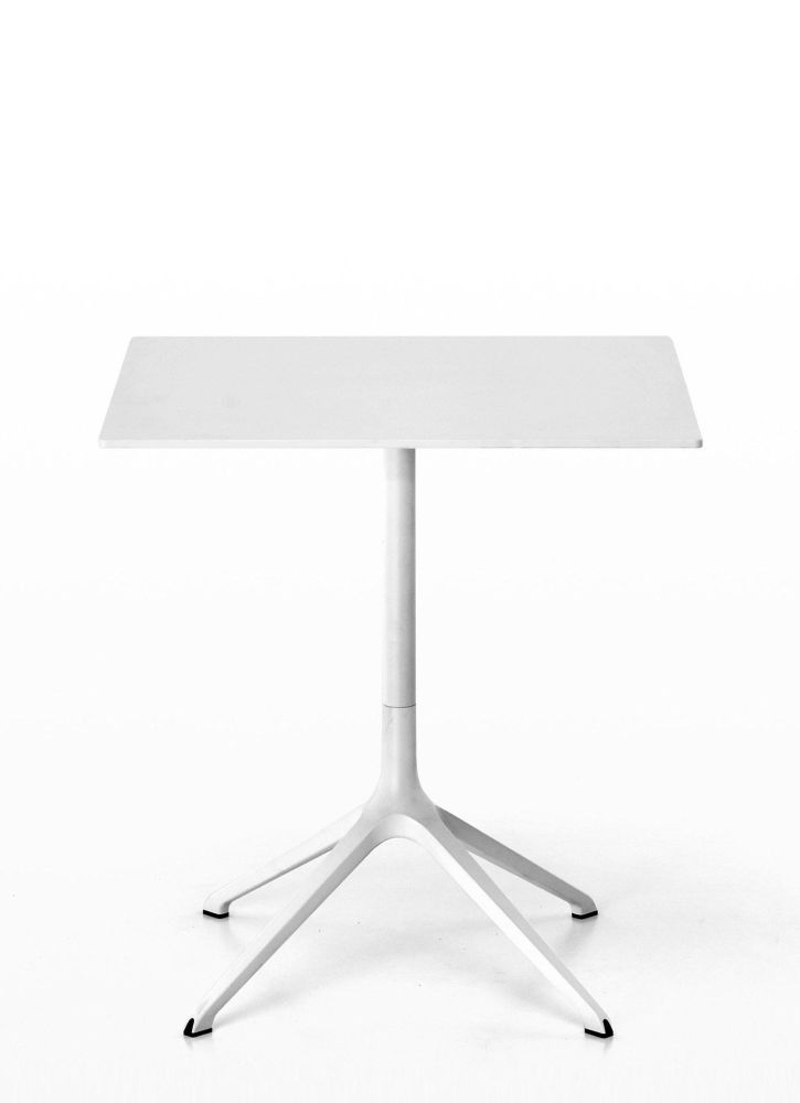 Elephant Occasional Square Table - Fixed Top by Kristalia