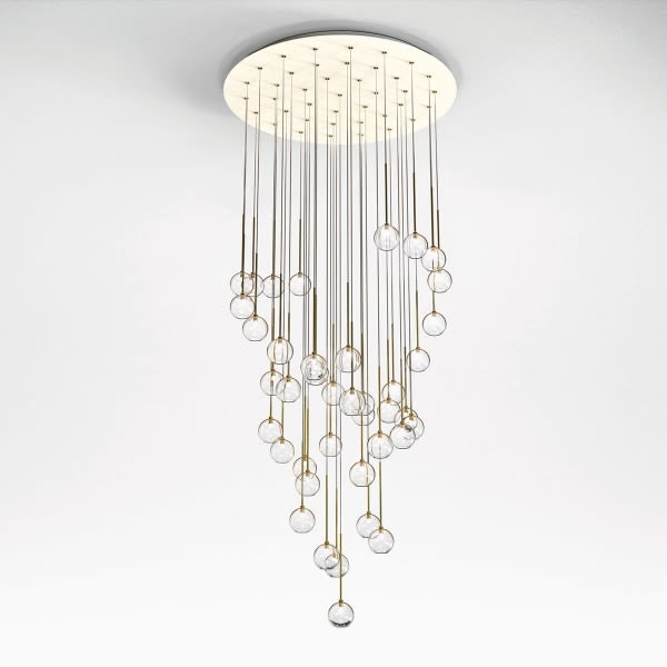Elettra Chandelier by Lumen Center Italia