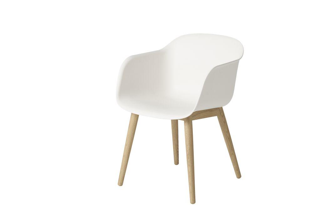 Fiber Armchair Wood Base by Muuto