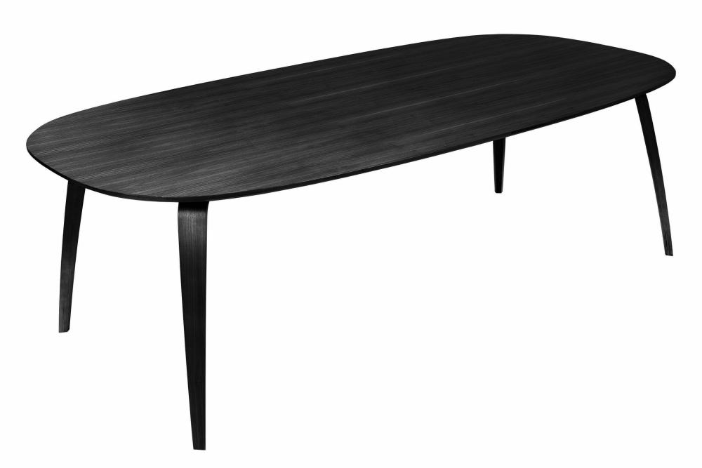 Gubi Elliptical Dining Table by Gubi