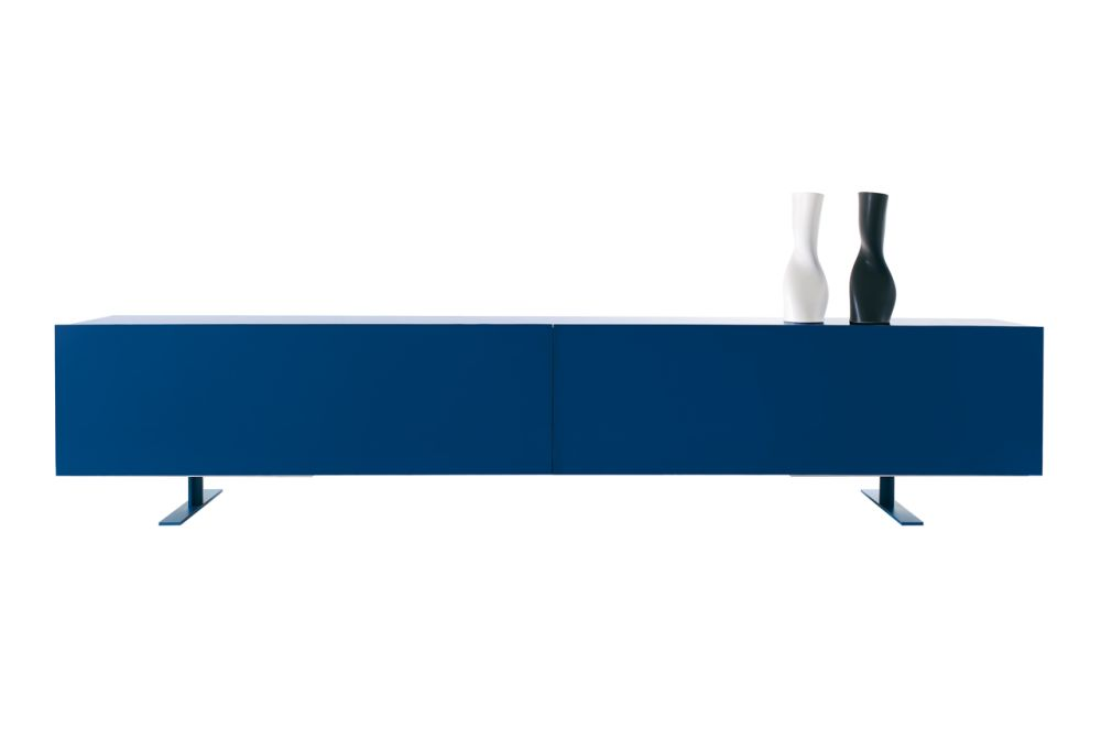 Luxor Wide Low Cabinet by Cappellini