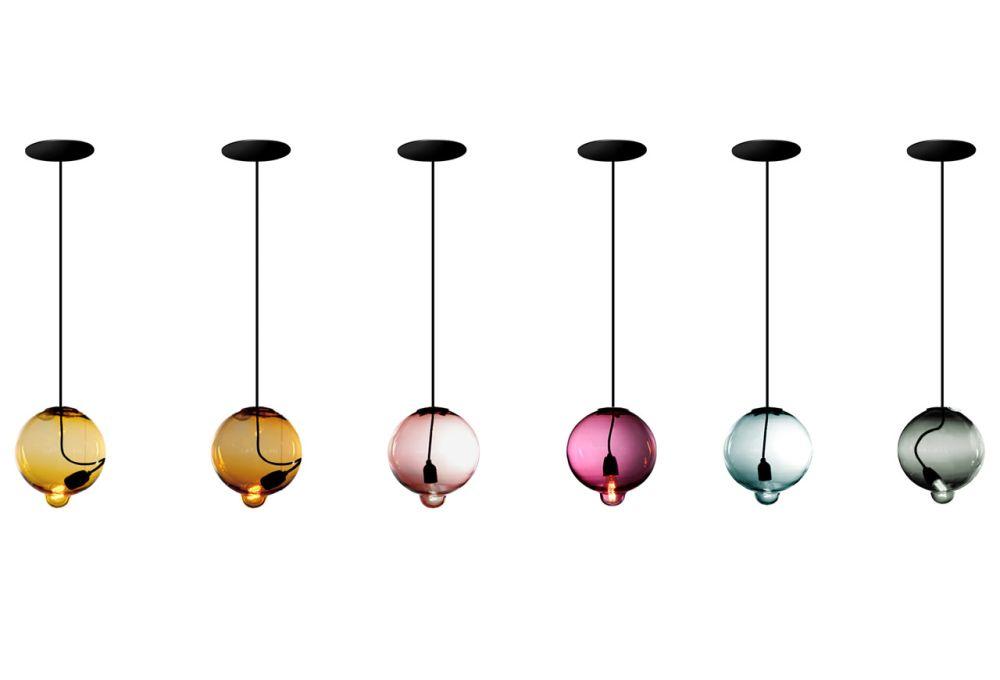 Meltdown Single Pendant Light by Cappellini