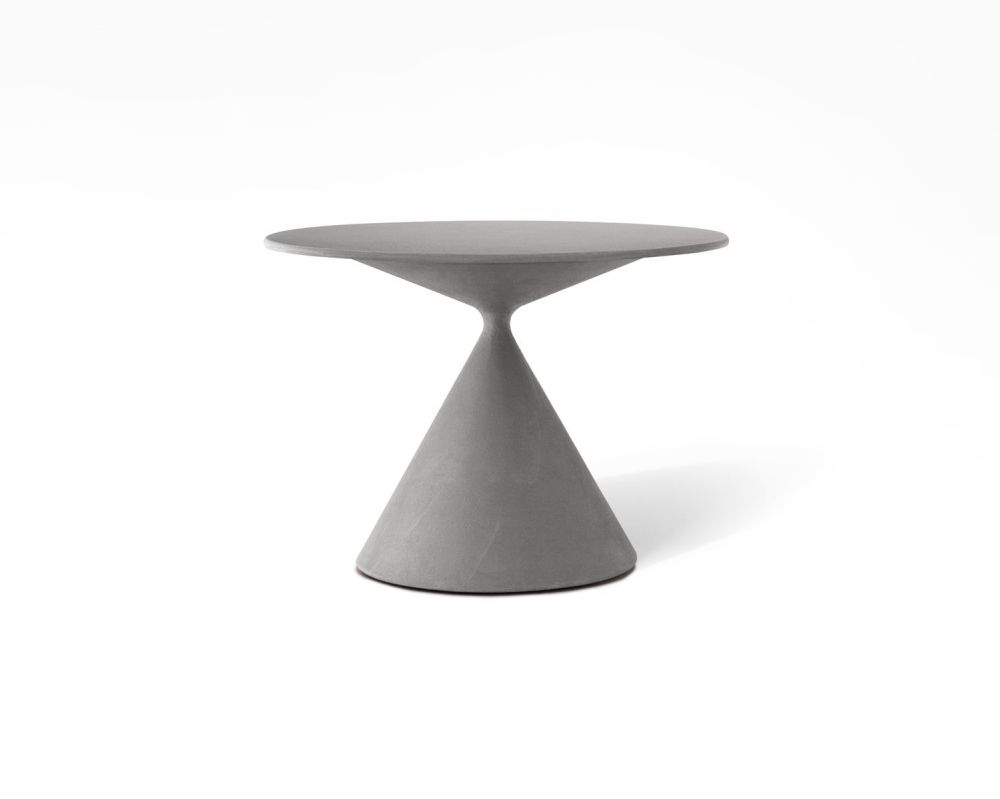 Mini Clay 702 Table with Ceramic Top by Desalto