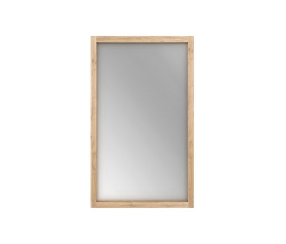 Oak Light Frame Mirror 90 X 5 X 200 Cm By Ethnicraft Clippings