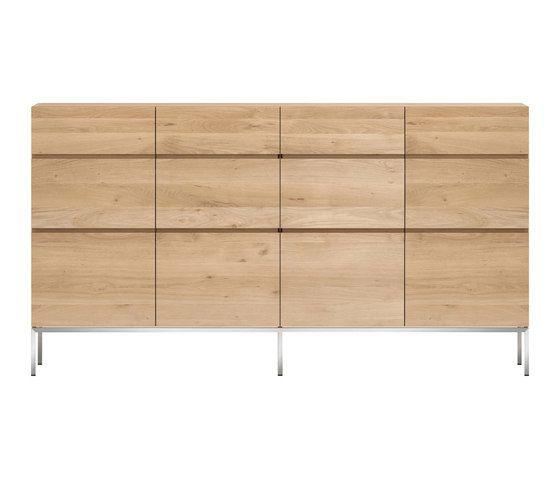 Oak Ligna High Sideboard by Ethnicraft