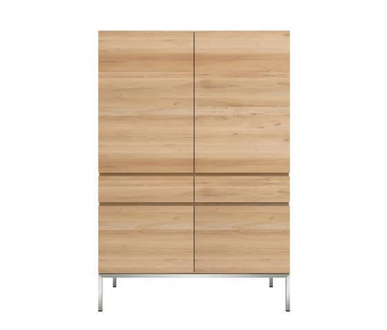 Oak Ligna Storage Cupboard by Ethnicraft