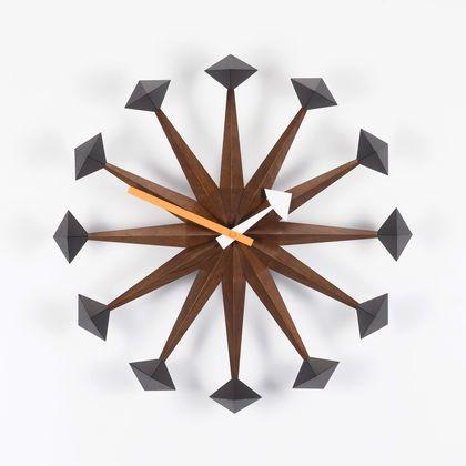 Polygon Clock by Vitra