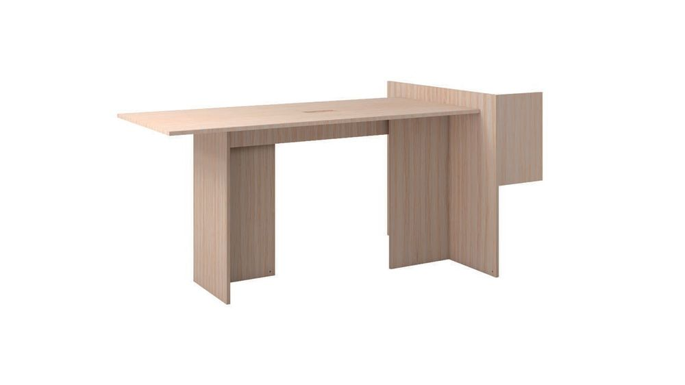 Radicàl Fake Multifunctional desk in Melamine Finish by Cappellini